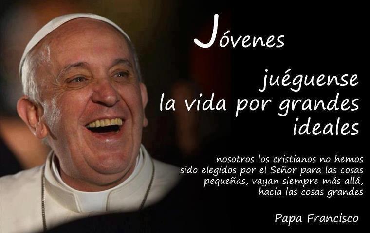 Msa Ser Pequeos Y Pobres Es La Invitacin Del Papa